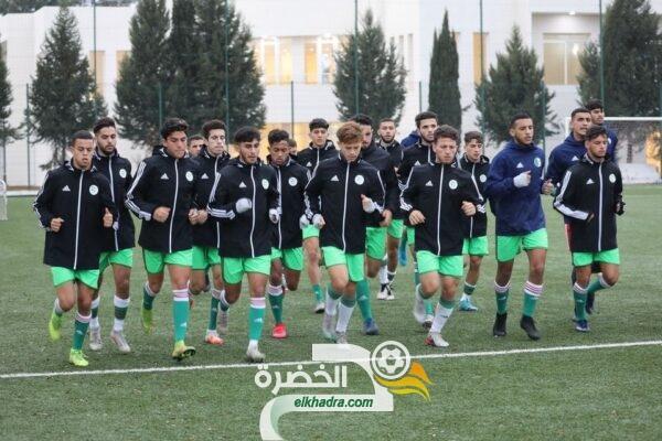 بالصور .. المنتخب الوطني لأقل من 20 سنة يواصل تحضيراته استعدادا لدورة شمال أفريقيا 27