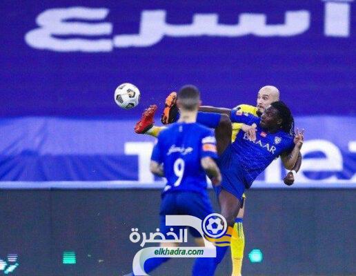 الدوري السعودي : الهلال يحسم ديربي الرياض أمام النصر بهدفين دون مقابل 66
