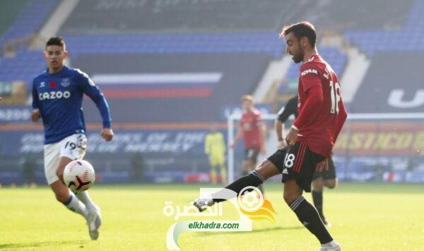 برونو فيرنانديز يواصل عروضه المميزة رفقة مانشستر يونايتد 25