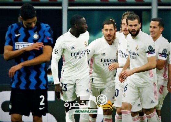 ريال مدريد يفوز على إنتر ميلان بهدفين دون رد 25