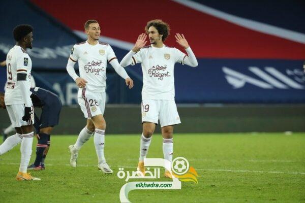 بمشاركة مهدي زرقان .. بوردو يحقق تعادل ثمين امام باريس سان جيرمان 25