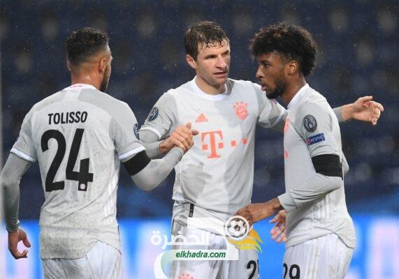 بايرن ميونخ يفوز على ريد بول سالزبورغ 5-2 في مرحلة المجموعات من دوري الأبطال 10