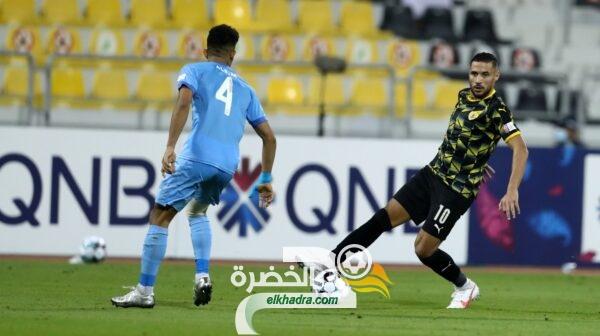 بلايلي هداف ويقود ناديه لمغادرة المركز الاخير في الدوري القطري 1