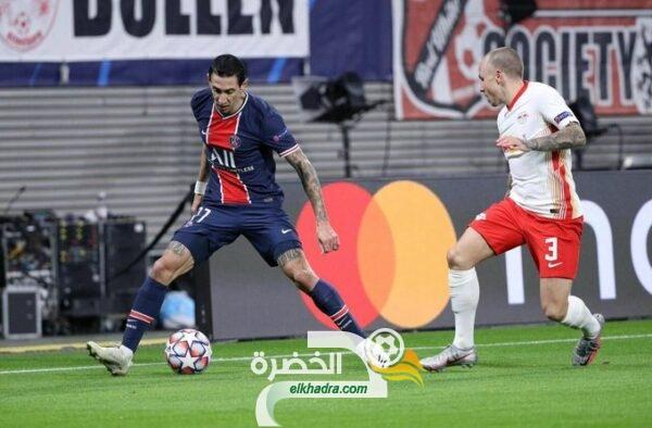 لايبزيج الألماني يفوز على ضيفه باريس سان جيرمان بدوري الابطال 27