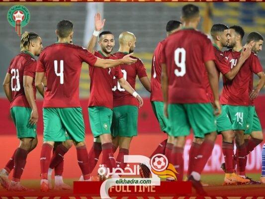 المنتخب المغربي يفوز على إفريقيا الوسطى برباعية في تصفيات كأس أمم إفريقيا 8