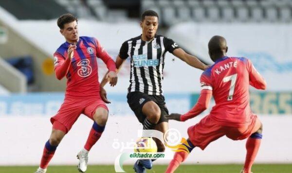 تشيلسي يفوز على نيوكاسل ويتصدر الدوري الإنجليزي الممتاز مؤقتا 1