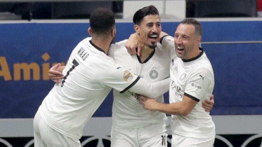بونجاح والسد إلى نهائي كأس قطر 35