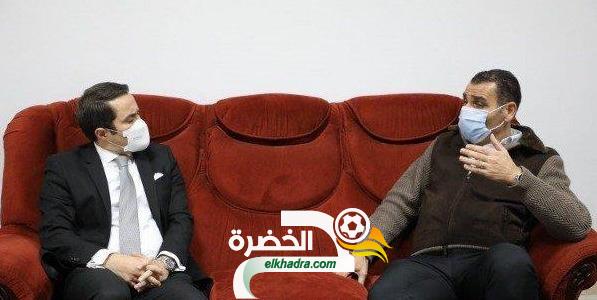 وزير الشباب والرياضة : سندعم زطشي بقوة في انتخابات الفيفا 29