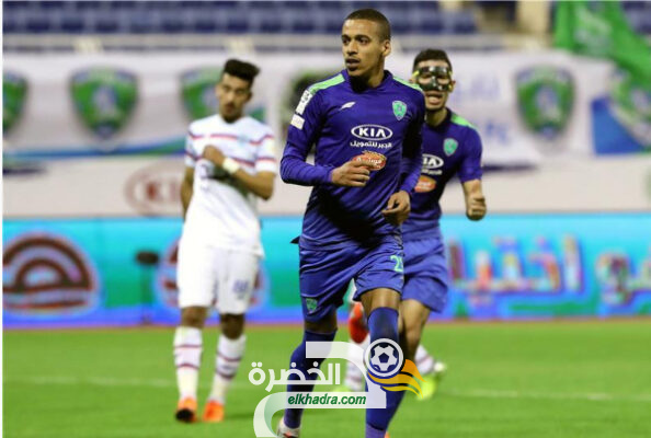 بن دبكة هداف في هزيمة الفتح امام أبها في الدوري السعودي 8
