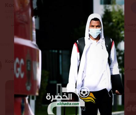 نادي نيس : هشام بوداوي مع بعثة الفريق المسافرة نحو الاراضي المحتلة 23