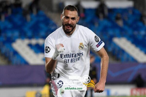 بن زيمة يقود ريال مدريد إلى ثمن نهائي دوري أبطال أوروبا 24
