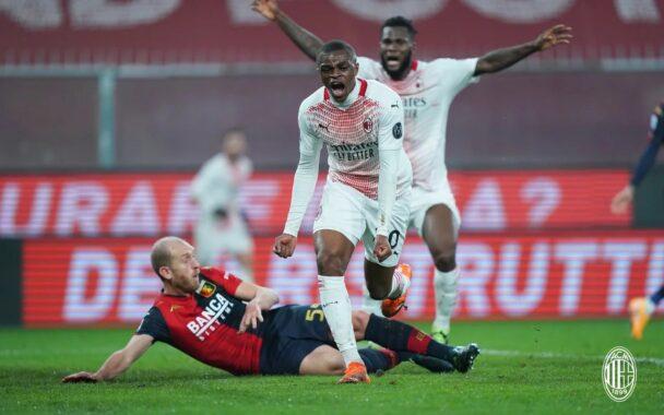 ميلان يتعادل مع جنوى ويحافظ على صدارة الدوري الإيطالي 32