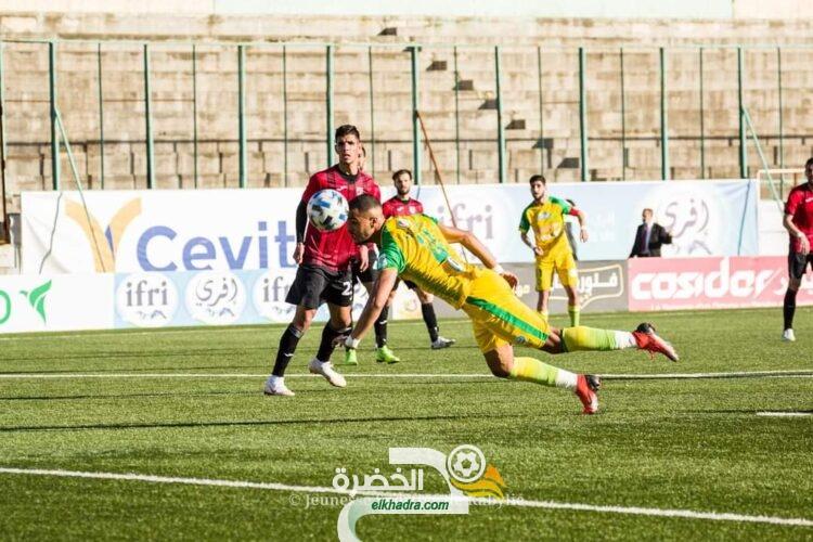 شبيبة القبائل تفوز على جمعية عين مليلة بفضل هدف كروم 23