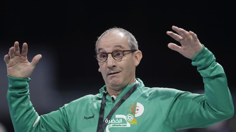 آلان بورت مستمر مع المنتخب الجزائري لكرة اليد 12
