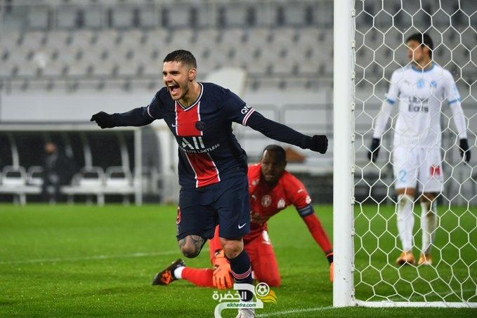 باريس سان جيرمان يتوج بكأس السوبر الفرنسي بفوزه على مارسيليا 27