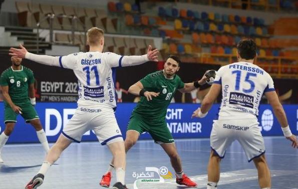 رغم الخسارة امام آيسلندا 39-24 : منتخب الجزائر يتأهل للدور الثاني للمونديال 23
