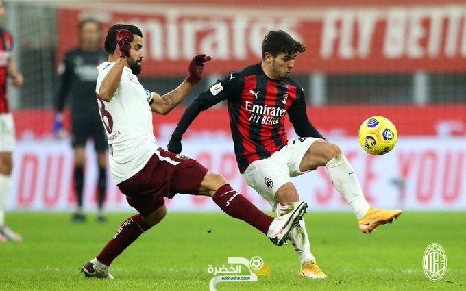 ميلان يتجاوز تورينو ويبلغ ربع نهائي كأس إيطاليا 24
