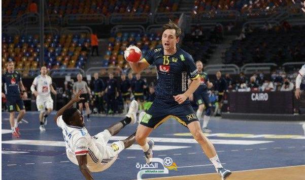 منتخب السويد يتأهل إلى نهائي بطولة كأس العالم لكرة اليد 11