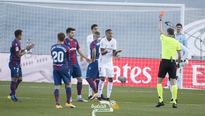 الدوري الإسباني: ريال مدريد ينهزم امام ضيفه ليفانتي 28