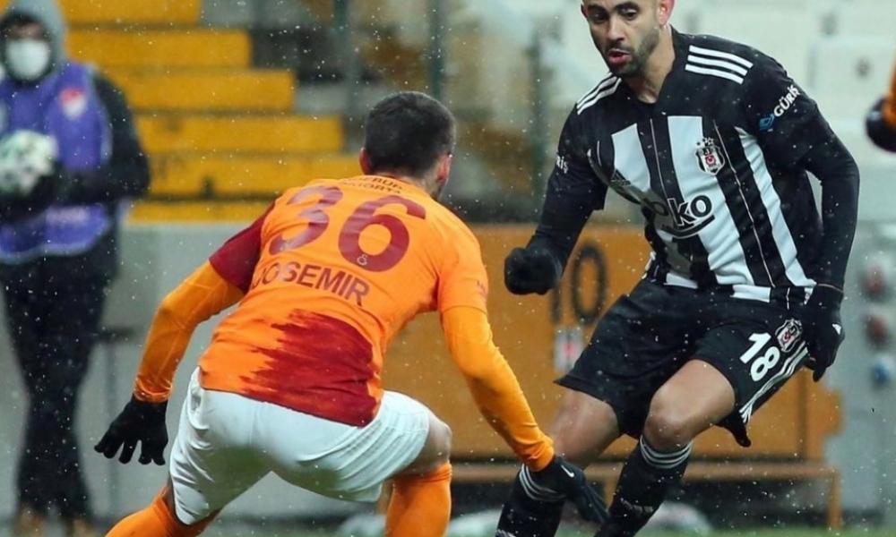 غزال اساسي في تصدر بشكتاش صدارة الدوري التركي بالفوز على جالطة سراي 23