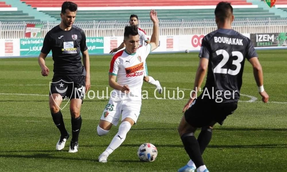 مولودية الجزائر تعود من بعيد وتحقق تعادل ثمين امام عين مليلة 23