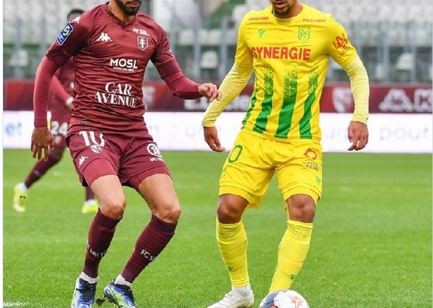 فريد بولاية يقود ميتز إلى الفوز على نانت بهدفين في الدوري الفرنسي 23