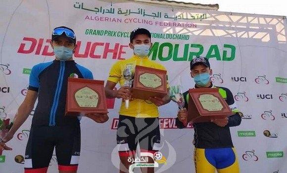 الدراج سيف الدين يفوز بالمرحلة الثانية للجائزة الكبرى لسباق الدراجات الهوائية 23