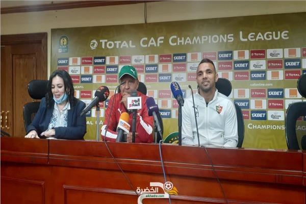 """عمراني: """"لمسنا رغبة كبيرة لدى اللاعبين في تحقيق نتيجة إيجابية"""" 23"""