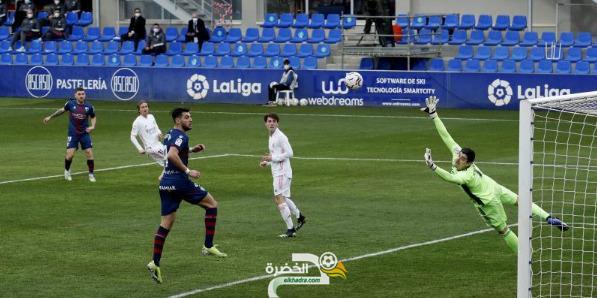 ريال مدريد يفوز على هويسكا بهدفين لهدف 24