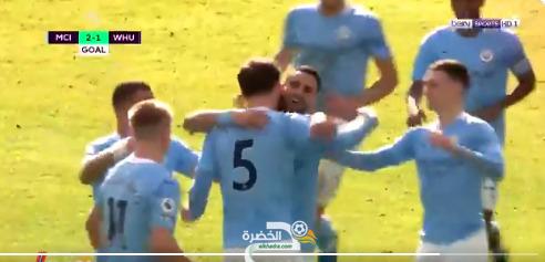 اسيست رياض محرز قاد فريقه لفوز صعب ضد بن رحمة اليوم 30
