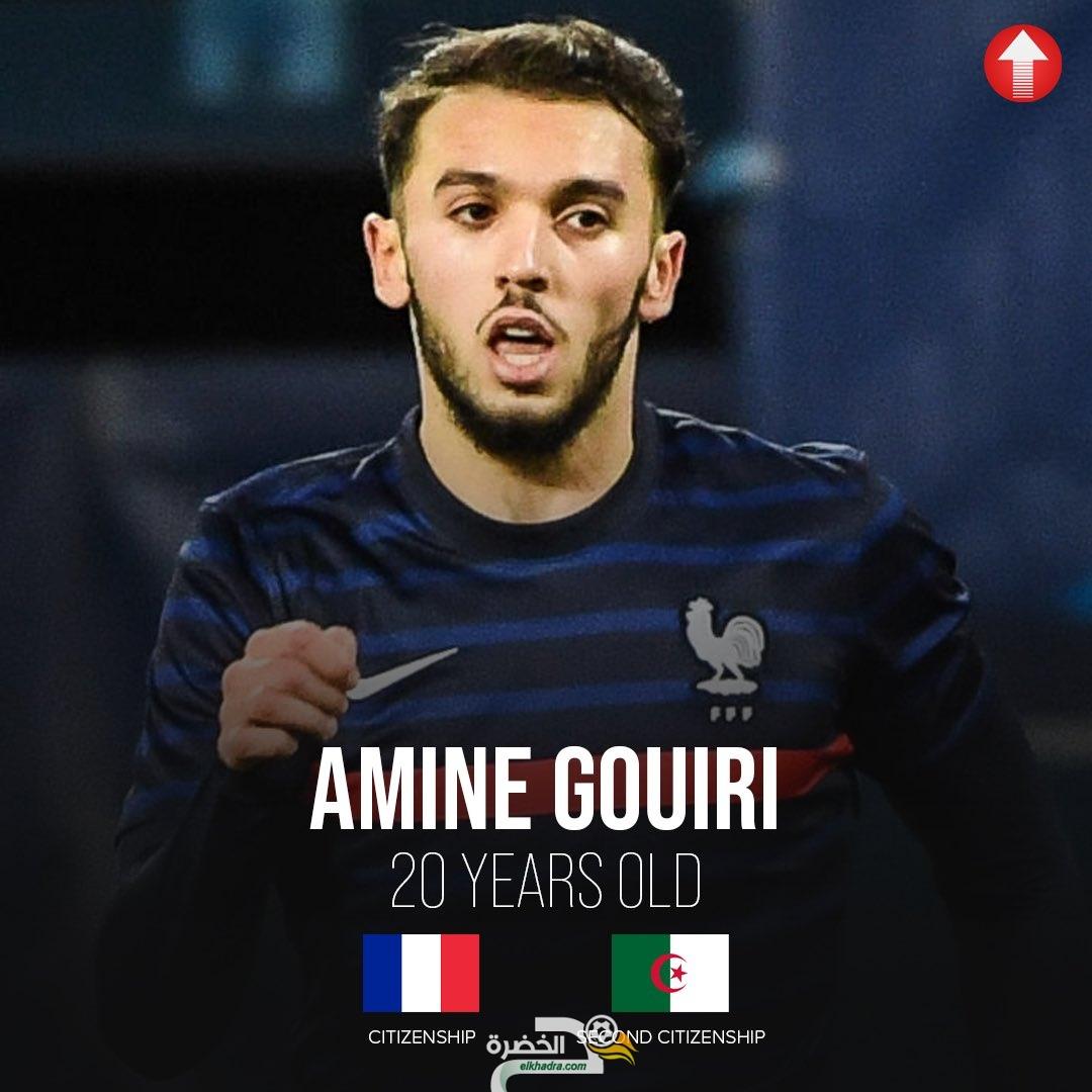 أمين غويري يفضل اللعب مع منتخب فرنسا على الجزائر 6