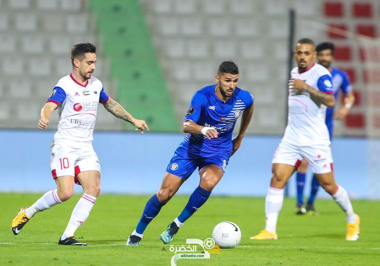 مهدي عبيد هداف ويقود النصر لنهائي كأس الإمارات 28