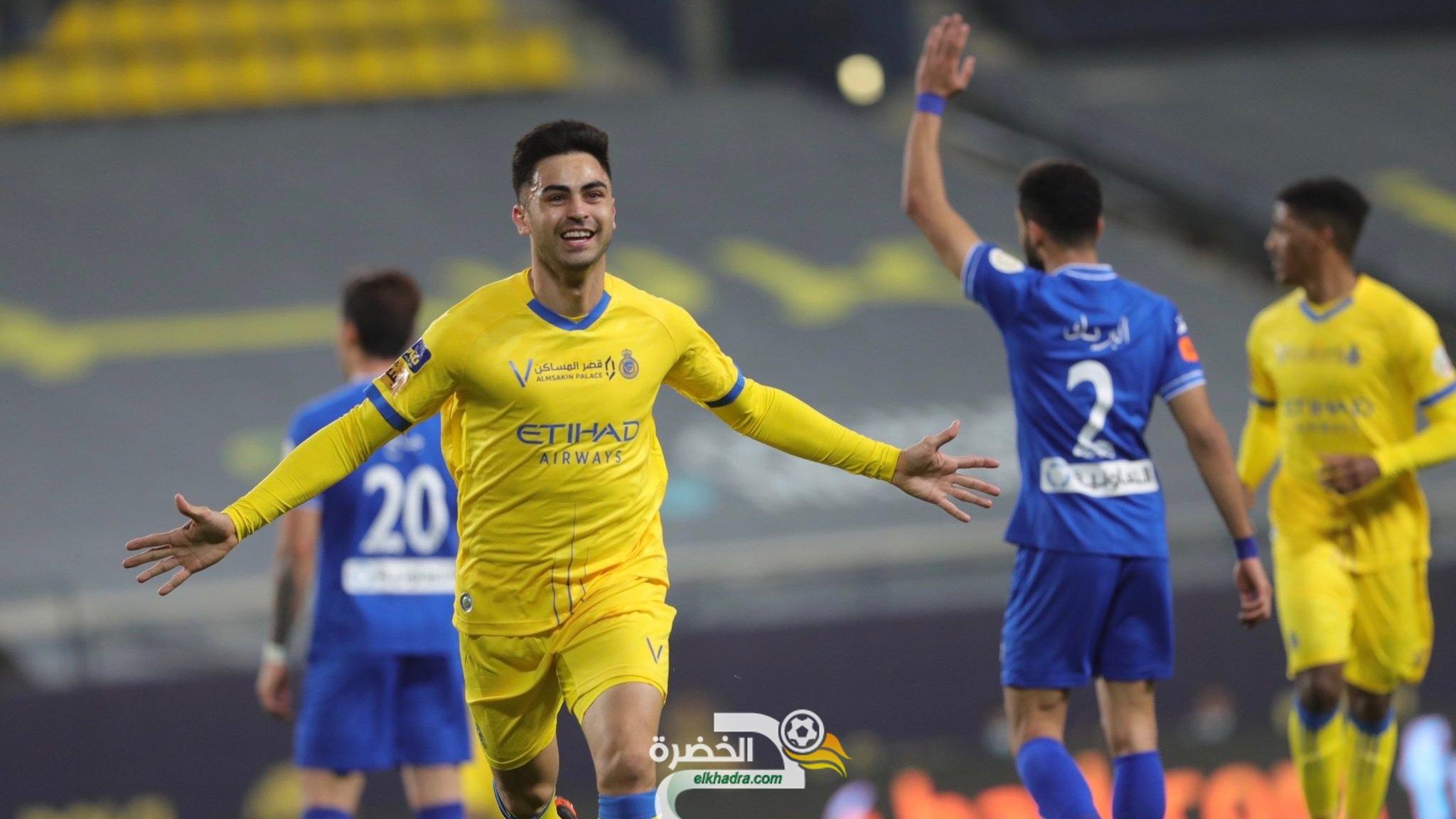 النصر يهزم الهلالفي ديربي الرياض في قمة الجولة 20 من الدوري السعودي  23