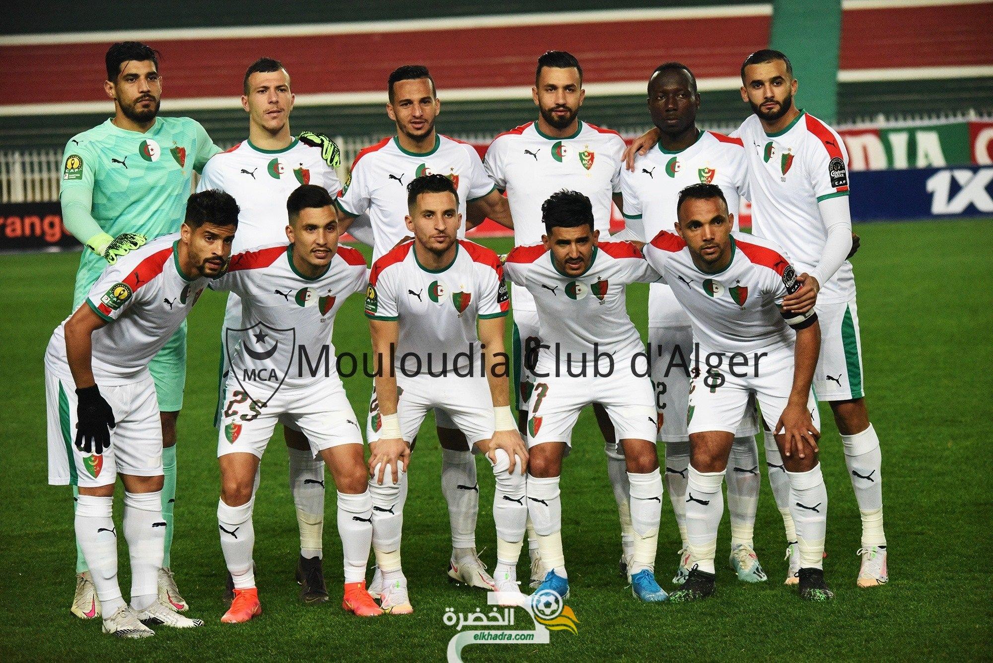 مولودية الجزائر تكتفى بالتعادل أمام الترجي بدوري الابطال 23