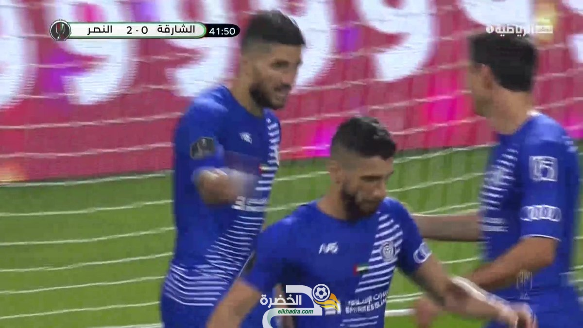 هدف مهدي عبيد ضد الشارقة بالدوري الاماراتي 23