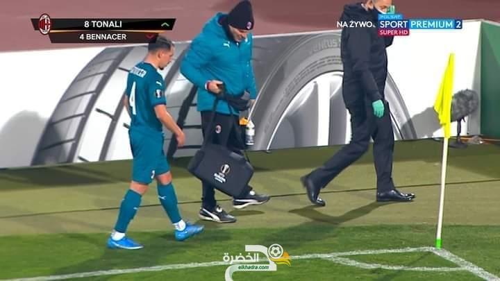 إصابة عضلية جديدة للاعب الدولي الجزائري إسماعيل بن ناصر 34