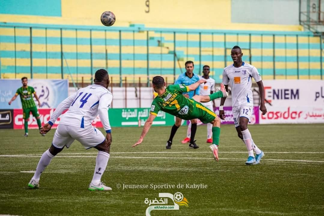 شبيبة القبائل تفوز على الملعب المالي وتتاهل لدور المجموعات 24