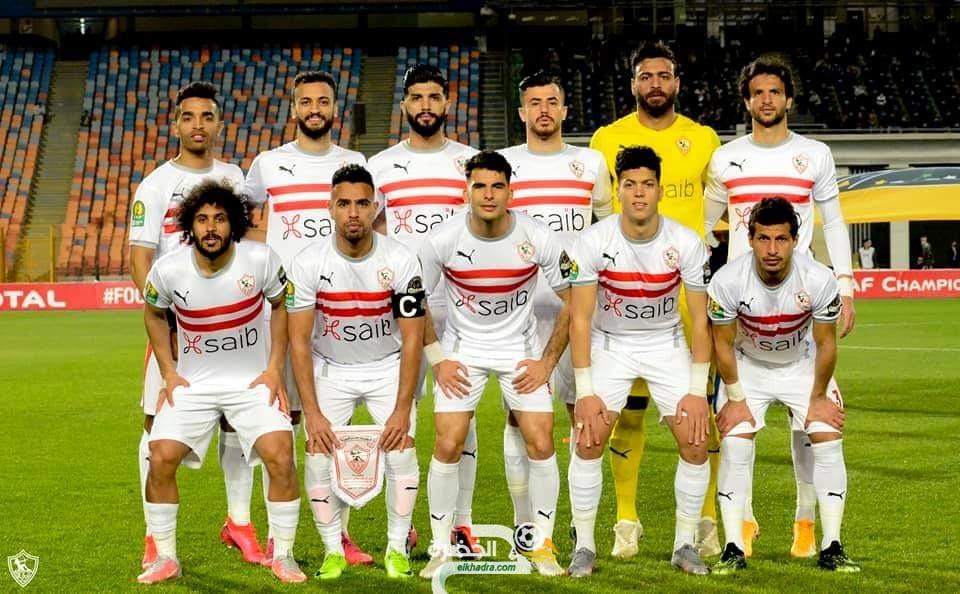 مجموعة مولودية الجزائر .. الزمالك يتعادل مع تونجيت السنغالي 23