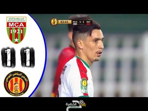 MCA vs EST ملخص مباراة مولودية والترجي 1-1 - داربي مغاربي مجنون - دوري ابطال افريقيا 23
