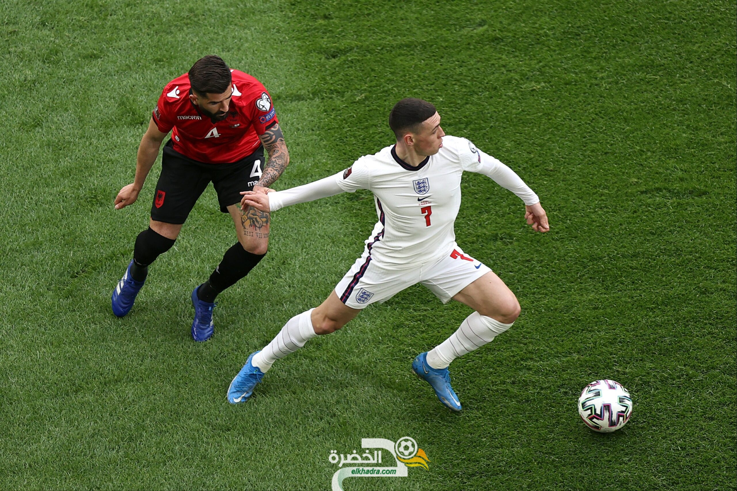 منتخب إنجلترا يفوز على ألبانيا في التصفيات الأوروبية المؤهلة لكأس العالم 2022 26