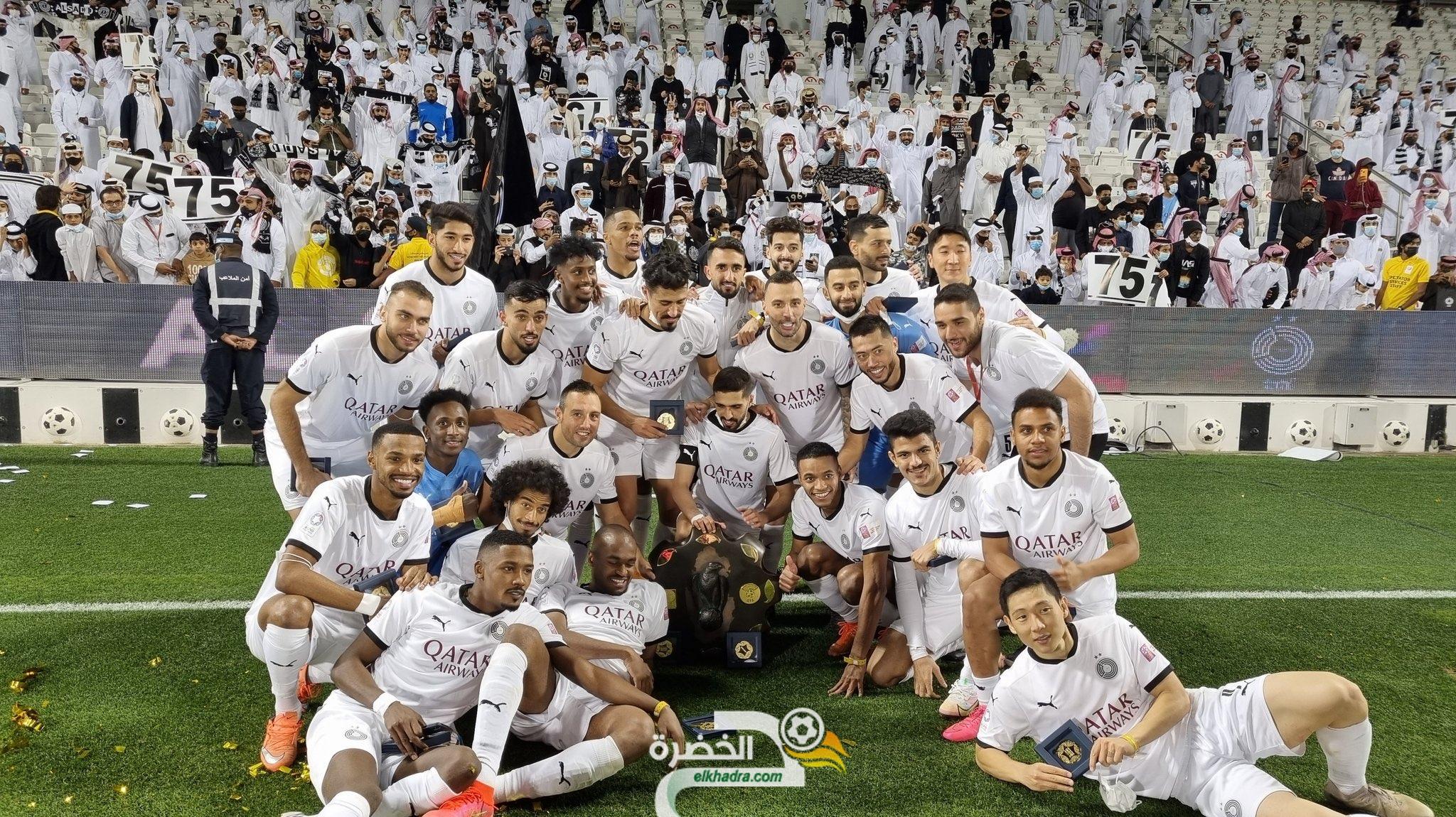 """بونجاح يسجل هدفاً و يقود ناديه """"السد"""" للتتويج بالدوري القطري 29"""