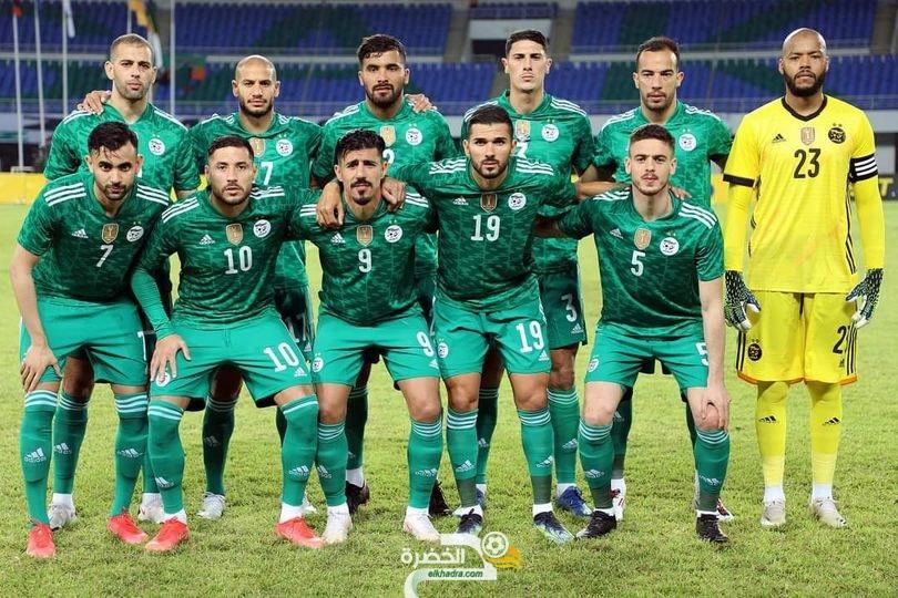 المنتخب الوطني سيواجه نظيره البتسواني بالقميص الأخضر 23