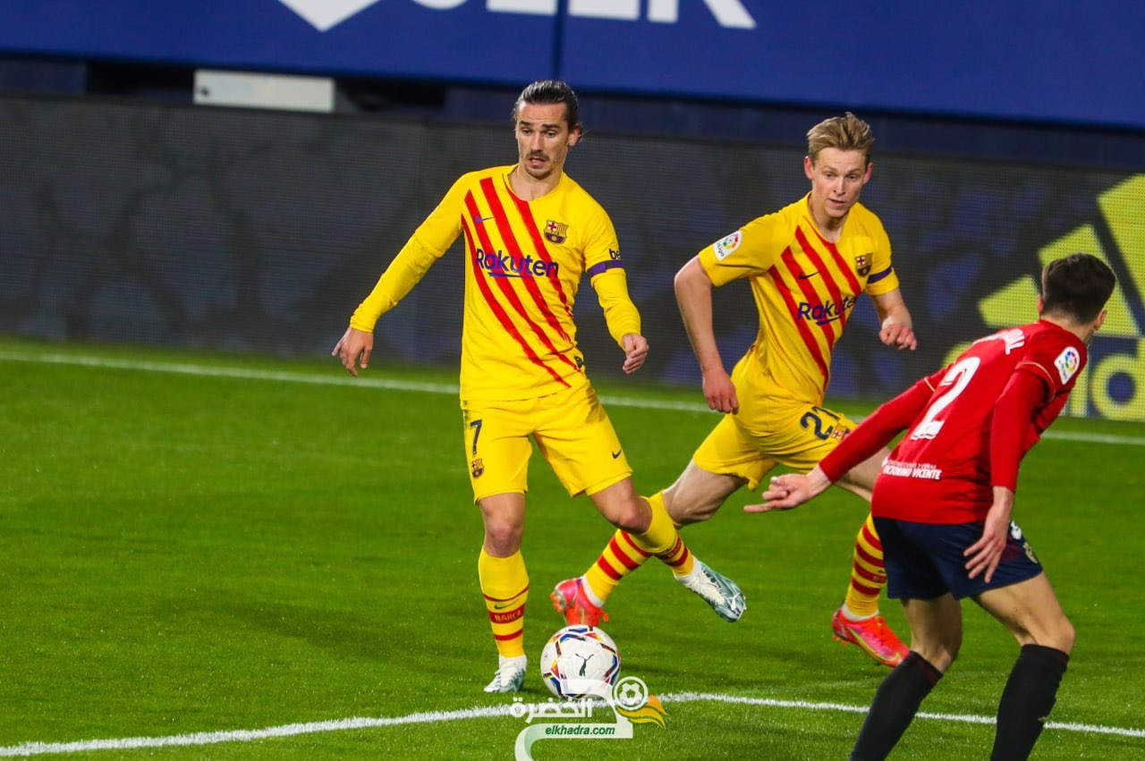 برشلونة يواصل سلسلة اللاهزيمة في الليغا و يتغلب على أوساسونا 26