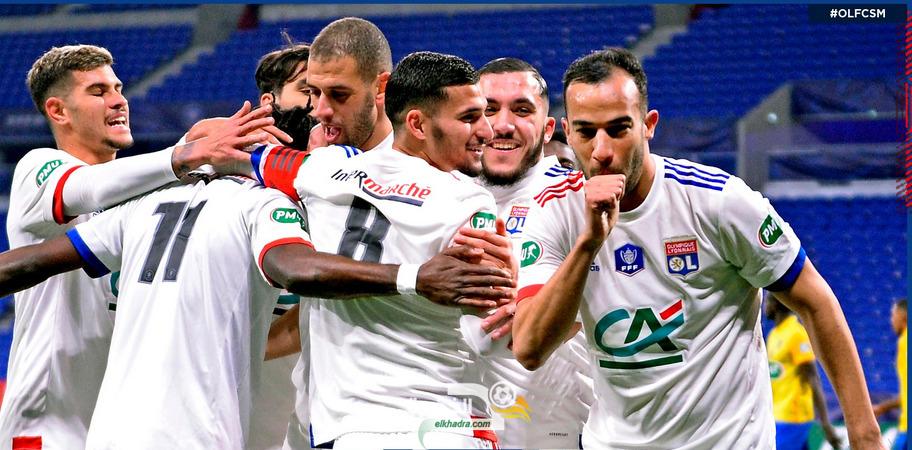 جمال بن العمري يبصم على أول أهدافه مساهما في فوز فريقه ليون 28