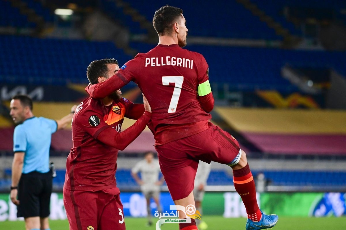 روما يفوز على ضيفه شاختار دونيتسك 1