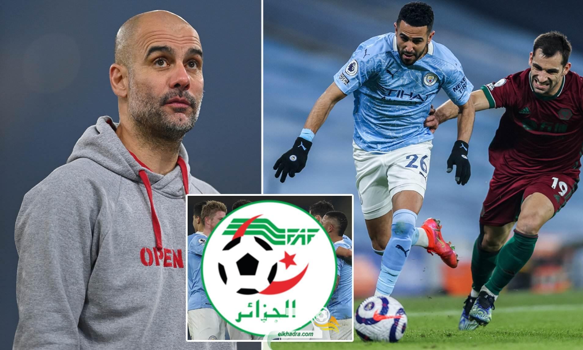 غوارديولا يمنع رياض محرز من السفر لتربص المنتخب الجزائري 27