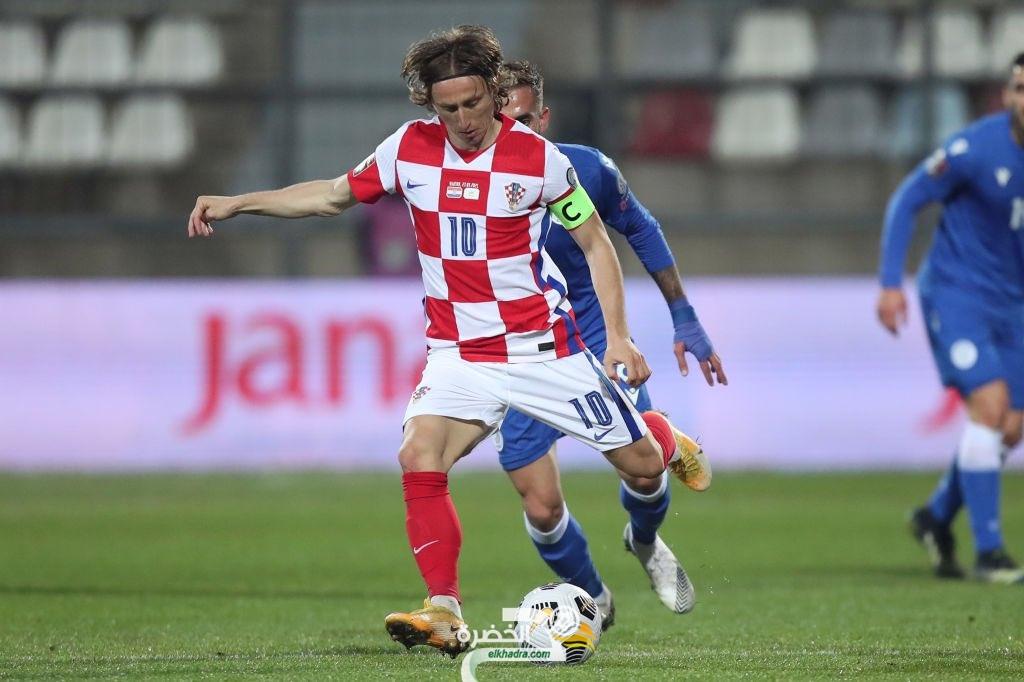 كرواتيا تفوز على قبرص في تصفيات كأس العالم 1