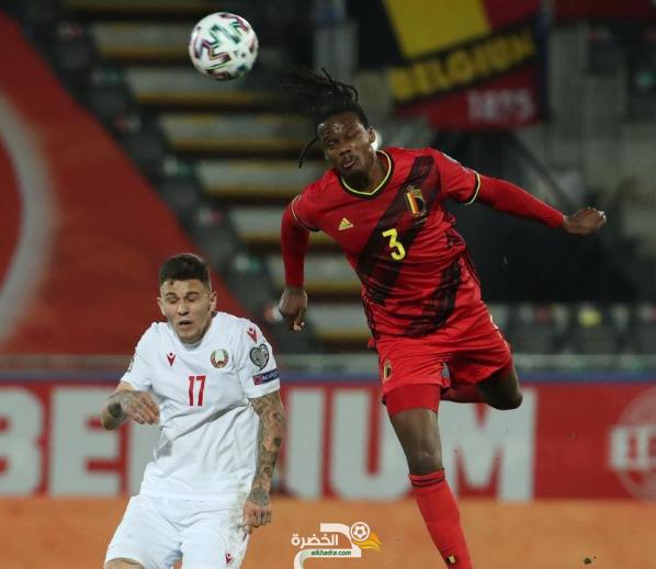 منتخب بلجيكا يسحق بيلاروسيا 8-0 بتصفيات كأس العالم 2022 24