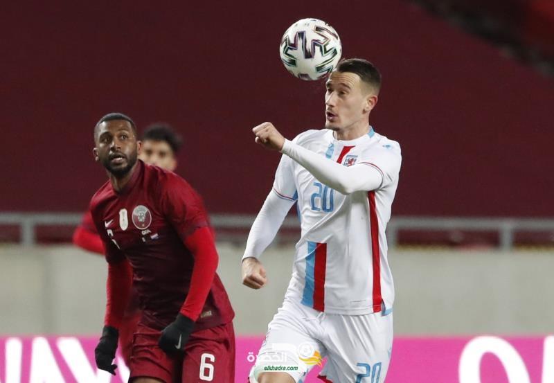 قطر تفوز على لوكسمبورج بالتصفيات الأوروبية المؤهلة للمونديال 7