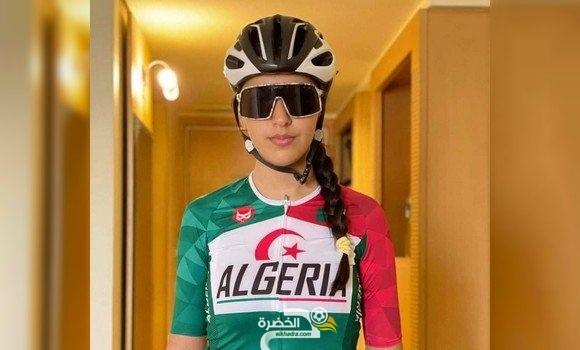 الجزائرية هويلي تنال الميدالية البرونزية في البطولة الإفريقية-2021 للدراجات 1